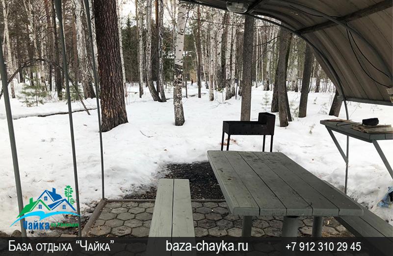 База Чайка озеро Увильды Челябинская область - Екатеринбург. Семейный 3хкомнатный домик