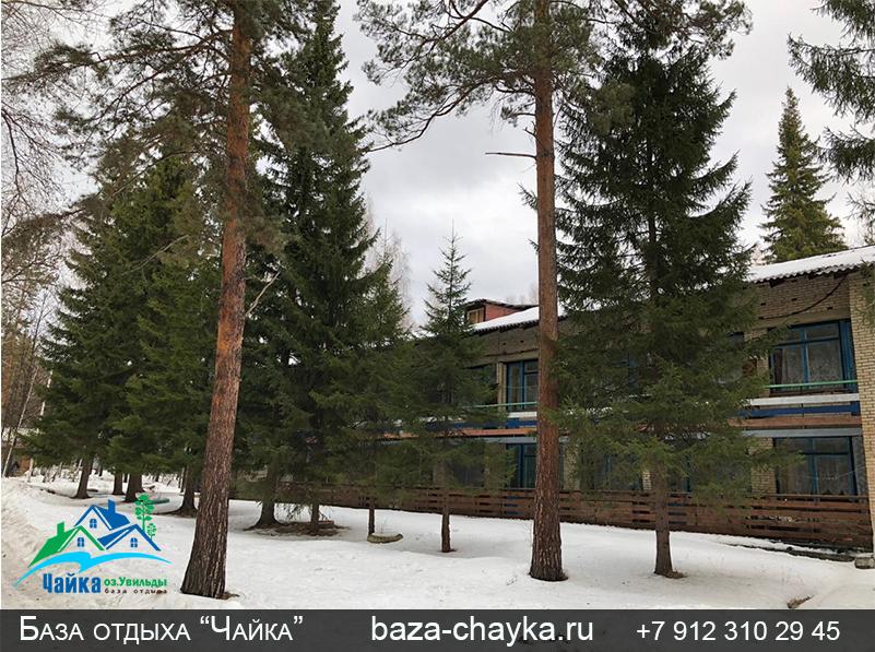 База Чайка озеро Увильды Челябинская область. Номер эконом