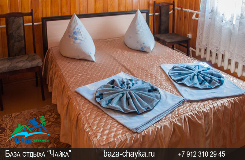 База Чайка озеро Увильды Челябинская область - Екатеринбург. Спальня Люкс