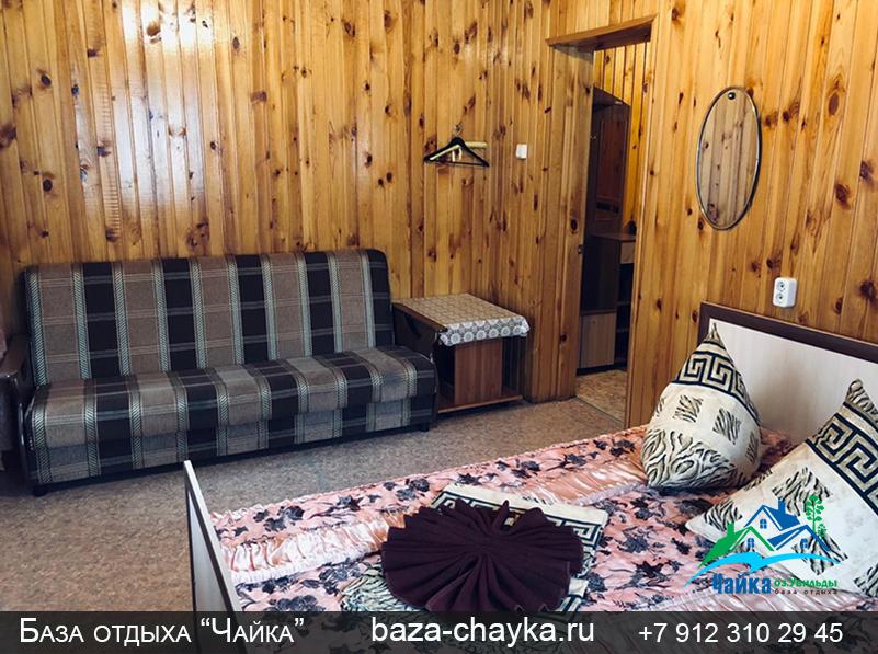 База Чайка озеро Увильды Челябинская область - Екатеринбург. Финский домик